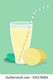 lemonade vector