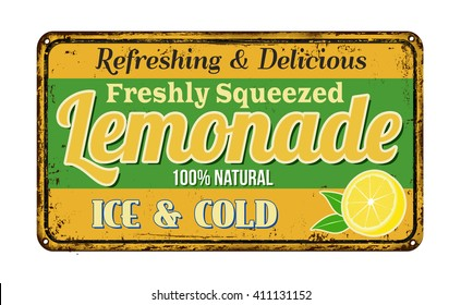lemonade sign images stock photos vectors shutterstock