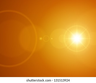 Lens flare ligh abstract vector background