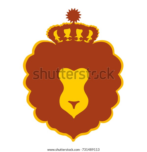 Leo Lion Humanlooking Zodiac Fire Sign Stock Vector (Royalty Free