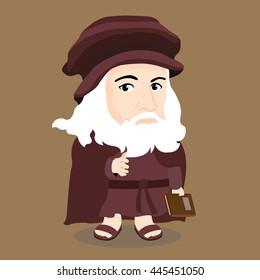 Leonardo da Vinci Character