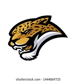 Leopard for esport and sport mascot logo isolated