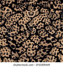 Leopard Fashion Pattern. Print leopard pattern