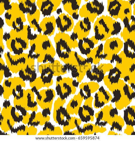 Leopard And Giraffe Print Skin Texture Animal Stains Home Decor Modern Textile