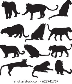 panther silhouette images stock photos vectors shutterstock