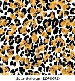 Leopard pattern, jaguar pattern, animal fur