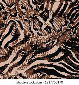 Leopard pattern, jaguar pattern, Animal print background