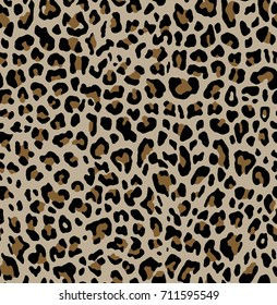 leopard pattern texture repeating seamless print.