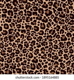 Leopard print.Abstract  leopard skin seamless pattern.