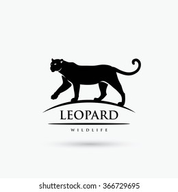 Leopard sign - vector illustration