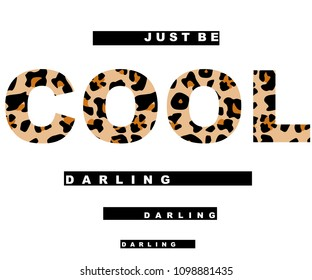 leopard text black and white line art vector