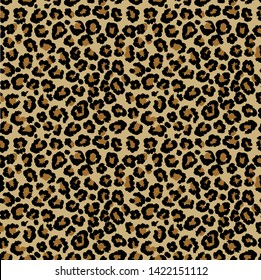 Leopard vector seamless pattern art