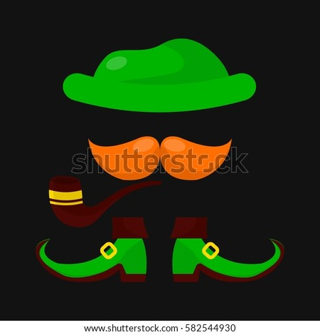 4f8ee68978b Leprechaun Clothing Saint Patrick Day Irish Stock Vector (Royalty ...