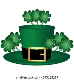 leprechaun hat symbol of St. Patrick's Day