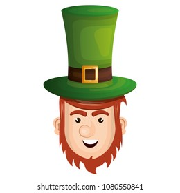 leprechaun head avatar character icon