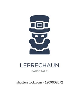 Leprechaun icon. Trendy flat vector Leprechaun icon on white background from Fairy Tale collection, vector illustration can be use for web and mobile, eps10