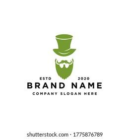 leprechaun logo design vector inspiration