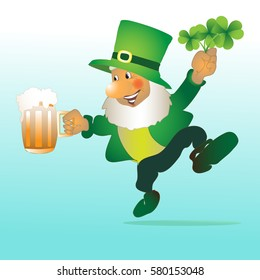 Leprechaun on St. Patrick's Day