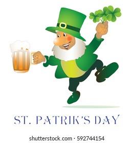 Leprechaun for St. Patrick's day