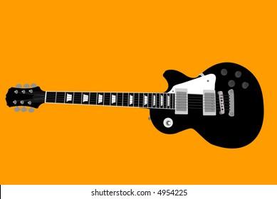 Les Paul Electric Guitar Vector