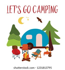 Camping Christmas Cards.Camping Night Car Images Stock Photos Vectors Shutterstock