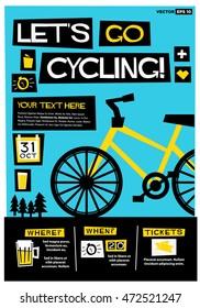 imagenes fotos de stock y vectores sobre cycle poster quotes