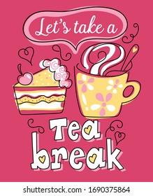 let's take a tea break