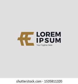 LETTER AE ARROW LOGO DESIGN CONCEPT MONOGRAM, MODERN AND SIMLE FOR COMPANY LOGO AE INITIAL SYMBOL