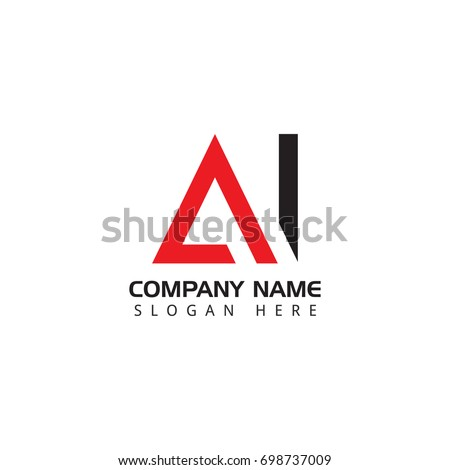 letter ai logo design template elements のベクター画像素材