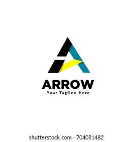 A letter arrow
