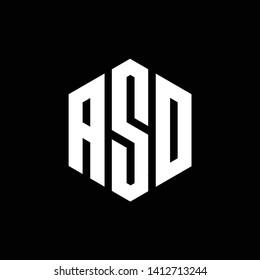 Letter ASD logo design - Vector - Vector