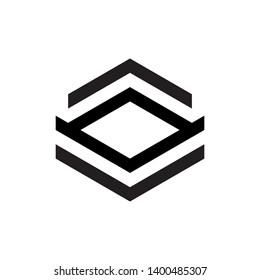 Letter AV with Up down arrow logo design