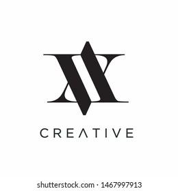 Letter AV logo templates, Brand logo