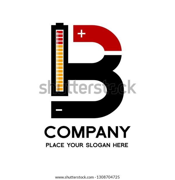 letter b battery vector logo template stock vector royalty free 1308704725 https www shutterstock com image vector letter b battery vector logo template 1308704725