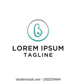 Letter B Fertus Logo Template