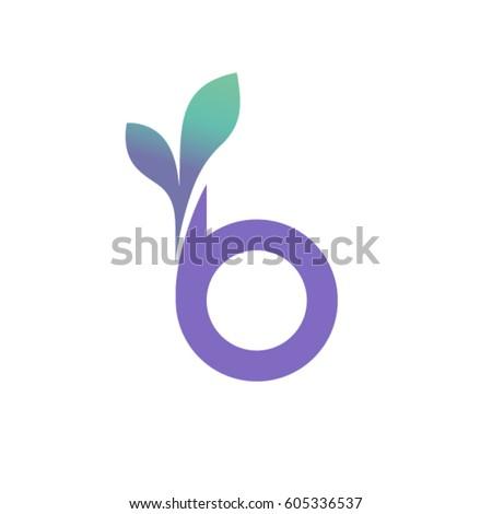 Letter B Logo Beauty Logo Design Stock Vector Royalty Free