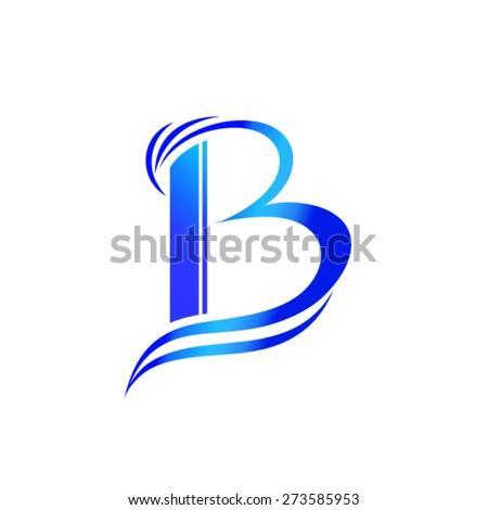 Letter B Logo Design Stock Vector (Royalty Free) 273585953