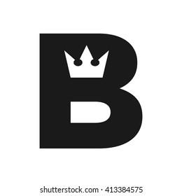 letter B logo vector.