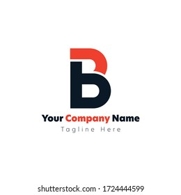 Letter B logo, Vector Art minimalist, flat, Concepts, Abstract, Company logos, Multi colors, Brilliant concept for business startups, Variations of B, Letter B Explorations, Lineart Vectors