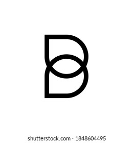 letter B logo vector, letter B business logo, letter B logo company