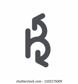 Letter B logotype. Company Logo, Print, Digital, Icon, Apps, print T-Shirts, Site