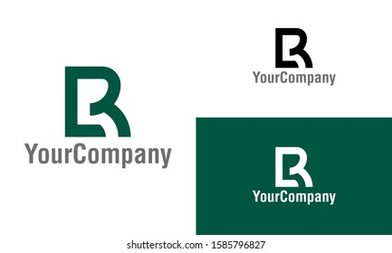 Letter B, LR, LB, BR, B3 and L3 logo icon design template elements. Simple minimalist template graphic illustration. Creative vector emblem, for icon or design concept.