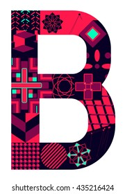 Letter B from my letter collection