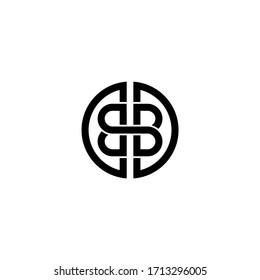 Letter BB Vector Logo Template