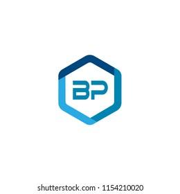 Letter BP Logo Template Design