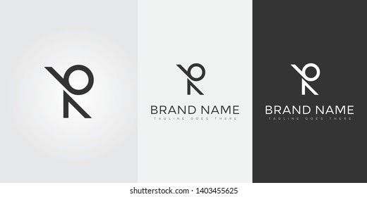 Letter BR Logo for companies or brands whose name initials are BR
