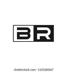Letter BR LogoTemplate Design