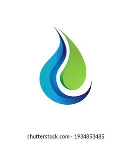 letter C or CJ Echo logo water drop