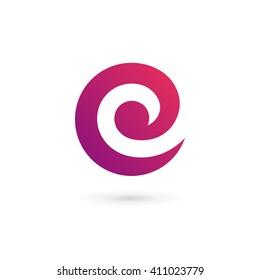 Letter C E logo icon design template elements