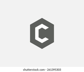 Letter C logo icon vector design